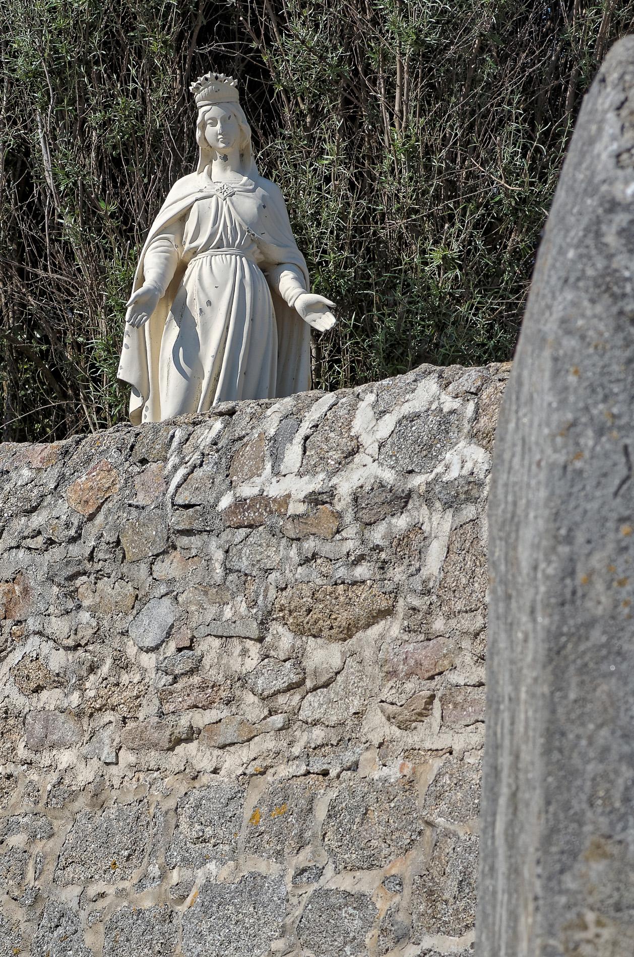 plan serré Marie Venelle à Brignogan, venelle à Brignogan, Vierge Marie , Assomption, , Brignogan-Plages, Bretagne, Finistère
