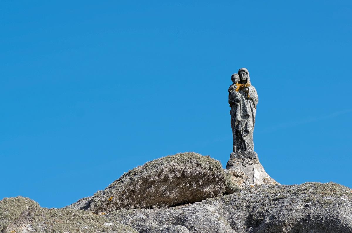 Vierge Marie, du Castel-Regis, Brignogan-Plages, Bretagne, Finistère