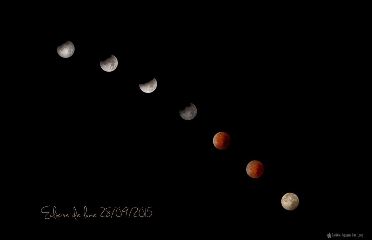 cycle éclipse du 28 septembre 2015 7 lunes, éclipse de lune, lune rouge, lune de sang