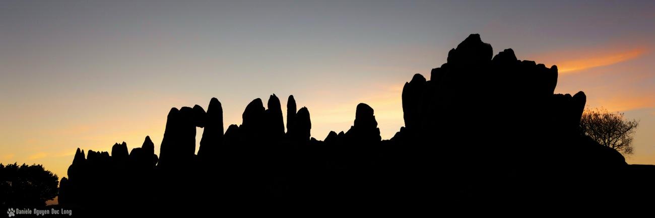 lever soleil barrachou, les Barrachou, Guissény, Finistère, Bretagne, soleil levant