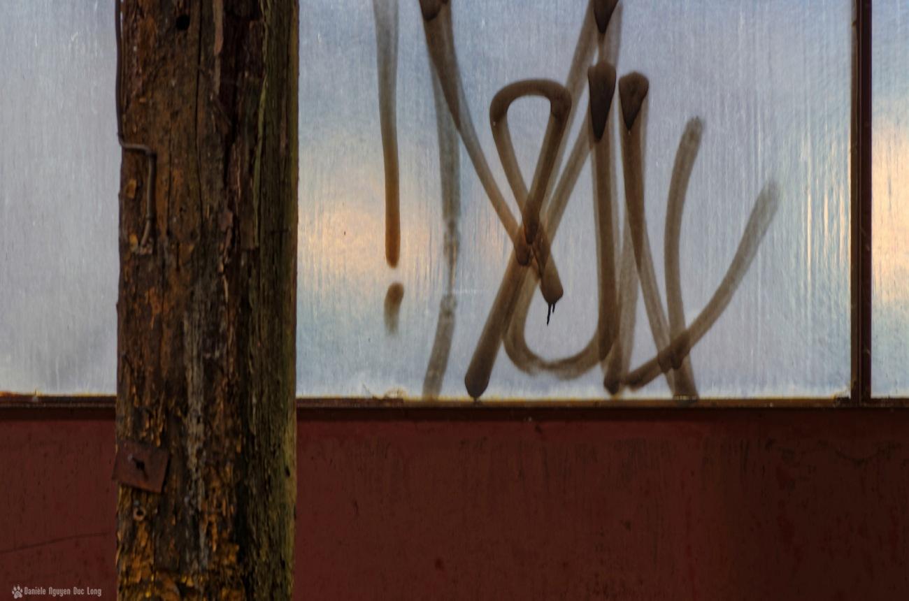 usine du souvenir jeux d'écriture, vitre opaque 01, exploration urbaine, friche industrielle, urbex