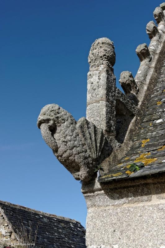 gargouille 1 de l'ossuaire de l'église de Goulven