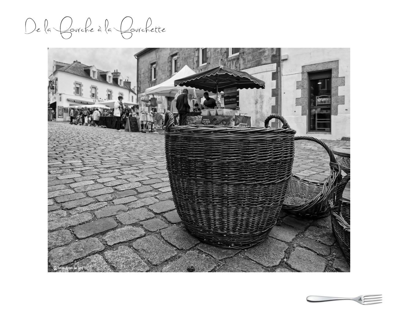 marché de la fourche à la fourchette, Guissény,Bretagne, Finistère, vannerie