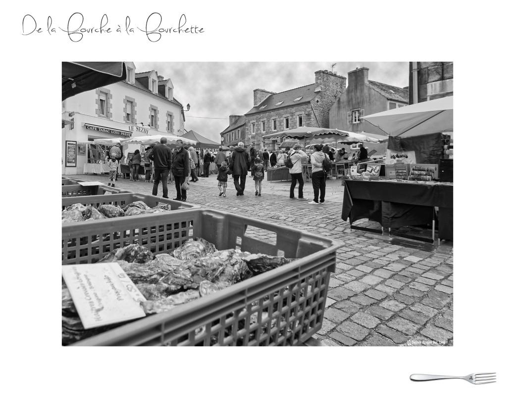 marché de la fourche à la fourchette, Guissény,Bretagne, Finistère, fruits de mer
