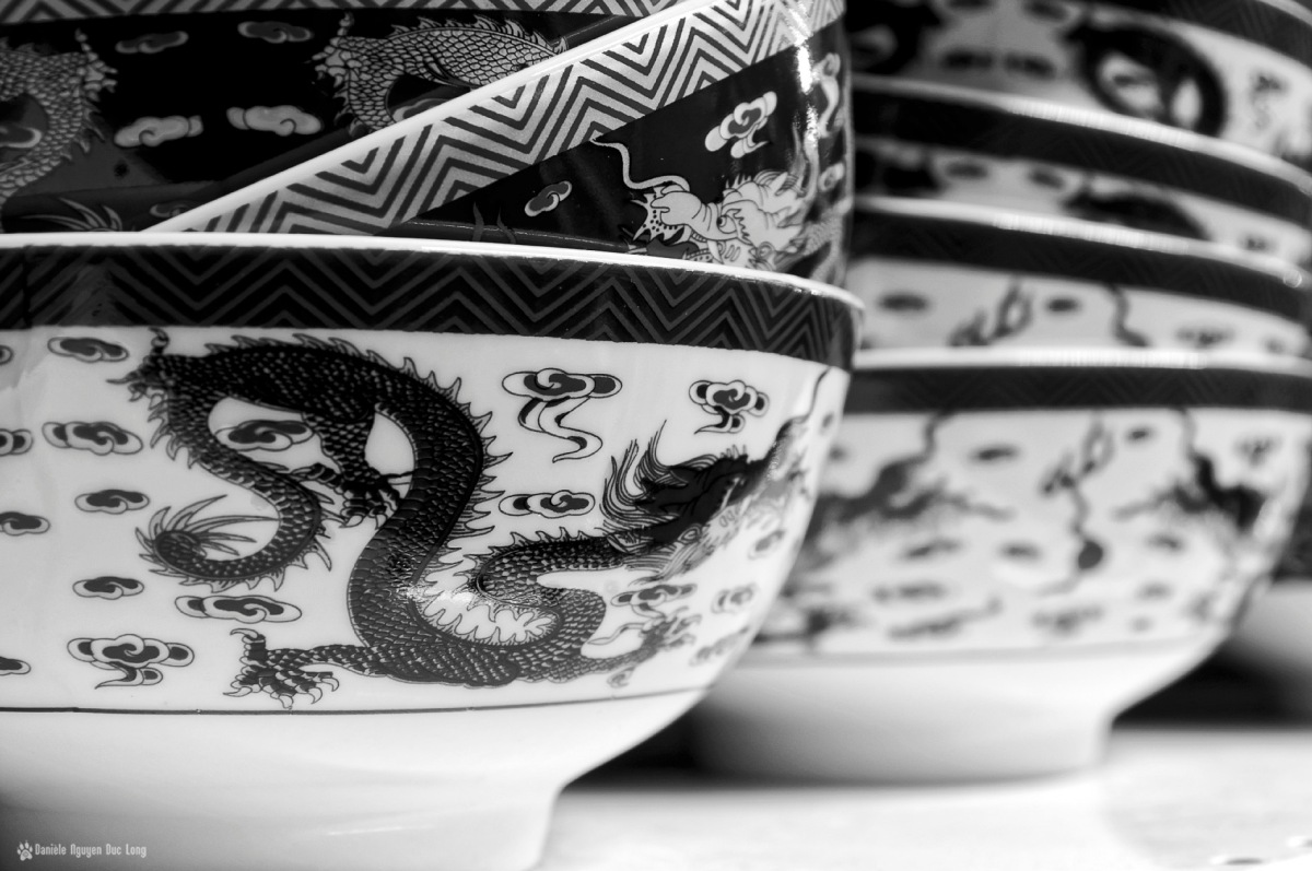 bols chinois dragons, bols chinois, vaisselle asiatique, nouvel an chinois, année du singe