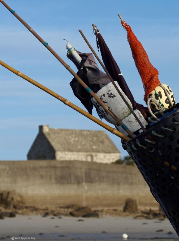corp de garde matin hiver koerjou, matin lumière hiver korejou, port de korejou, bateau, plouguerneau, bretagne, finistère