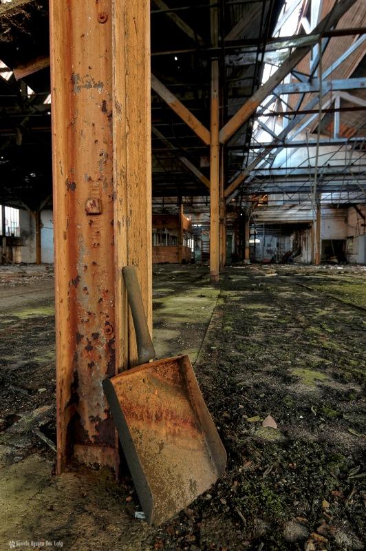 urbex usine du souvenir pelle, exploration urbaine, urbex, friche industrielle, usine du souvenir