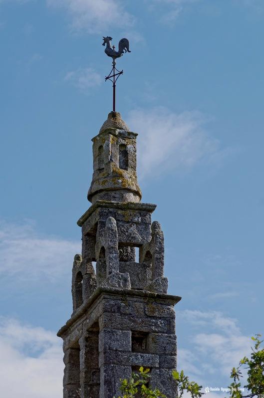 détail clocheton chapelle Guicquélleau, Folgoet, Bretagne, Finistère