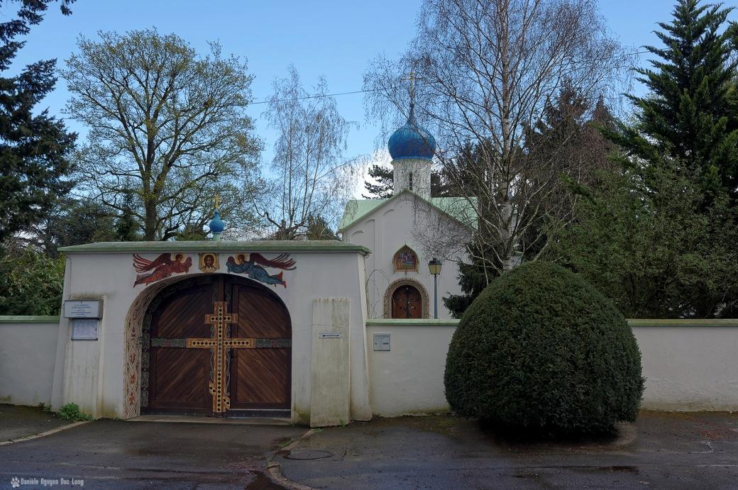 cimetière russe Ste-Geneviève-des-Bois ND d' l'Asomption