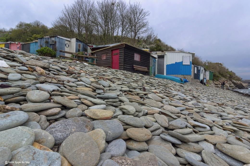 galets maison blanche1 copie, port atypique pêcheurs, port de maison blanche, Brest, Bretagne, Finistère