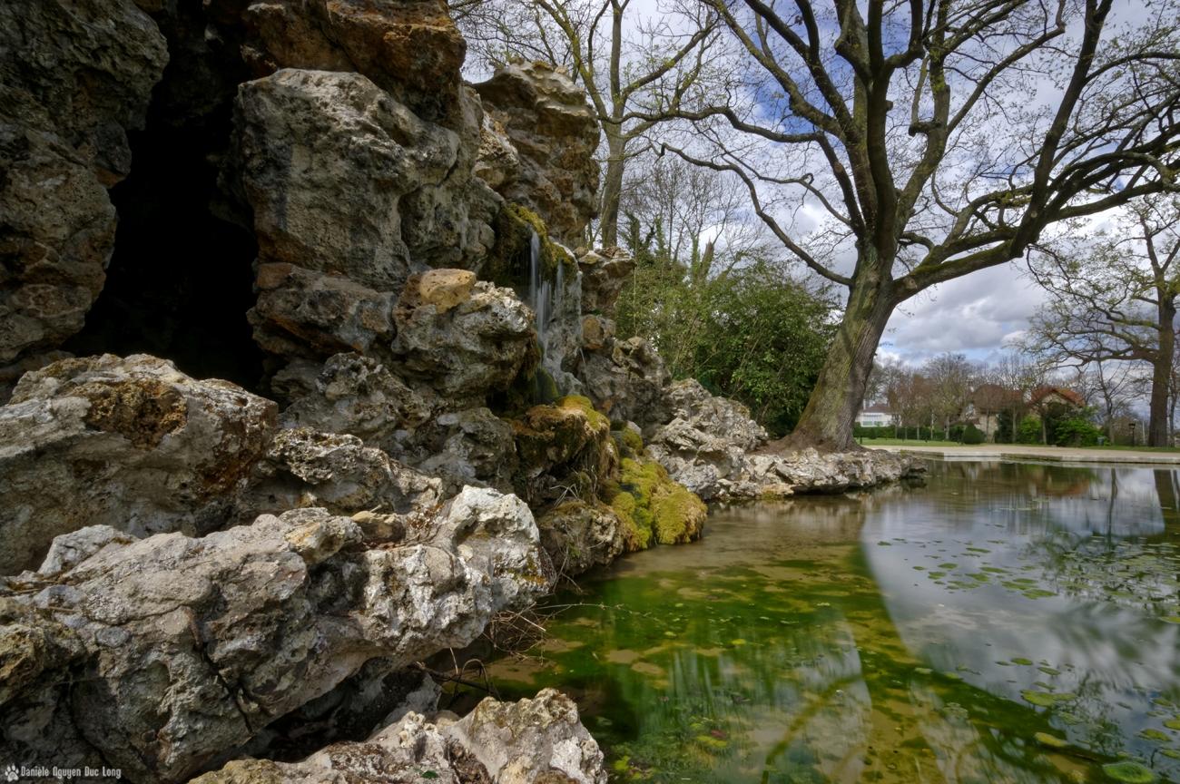grottes de Juvisy cascade grottes coté 01