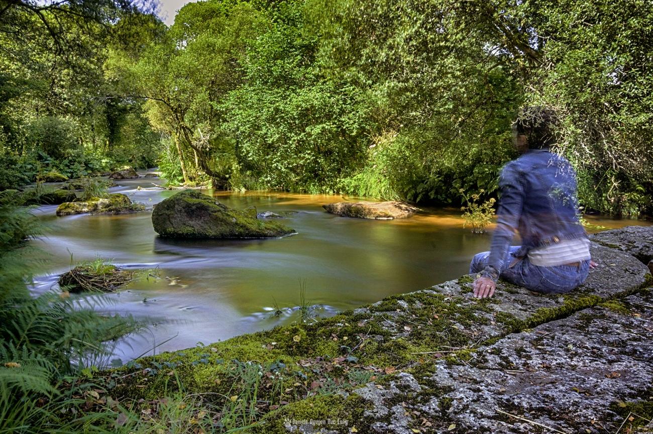 chaos mardoul autoportrait pose longue, chaos mardoul pose longue pont moulin, chaos mardoul pose longue auges, , pose longue entre les rochers, Chaos de Mardoul , Loqueffret, Bretagne, Finistère