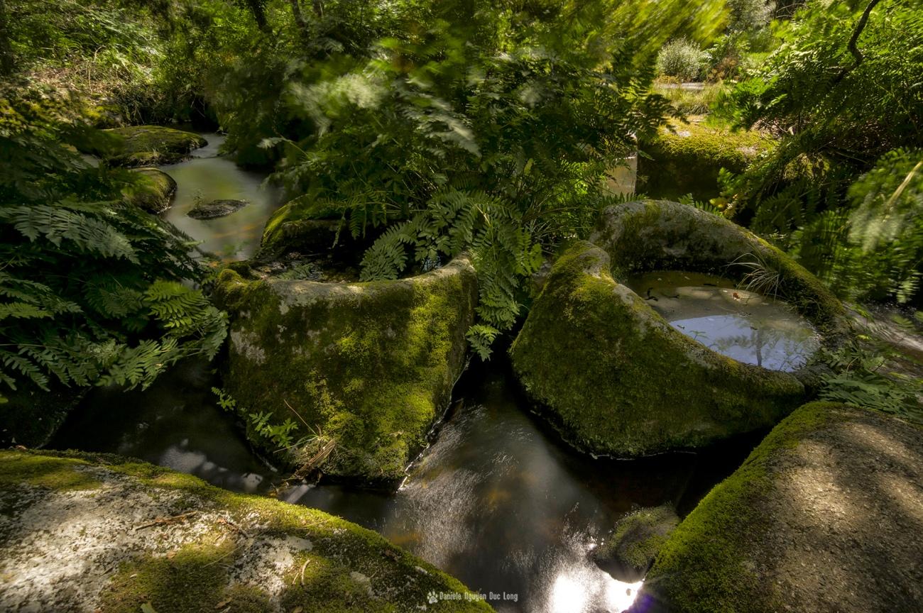 chaos mardoul pose longue auges, , pose longue entre les rochers, Chaos de Mardoul , Loqueffret, Bretagne, Finistère