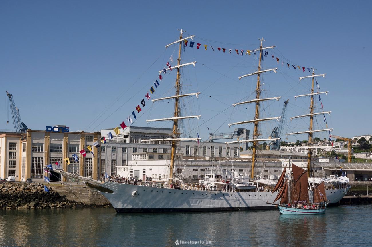 brest-2016-libertad, fêtes maritimes de Brest, Brest, Finistère, Bretagne