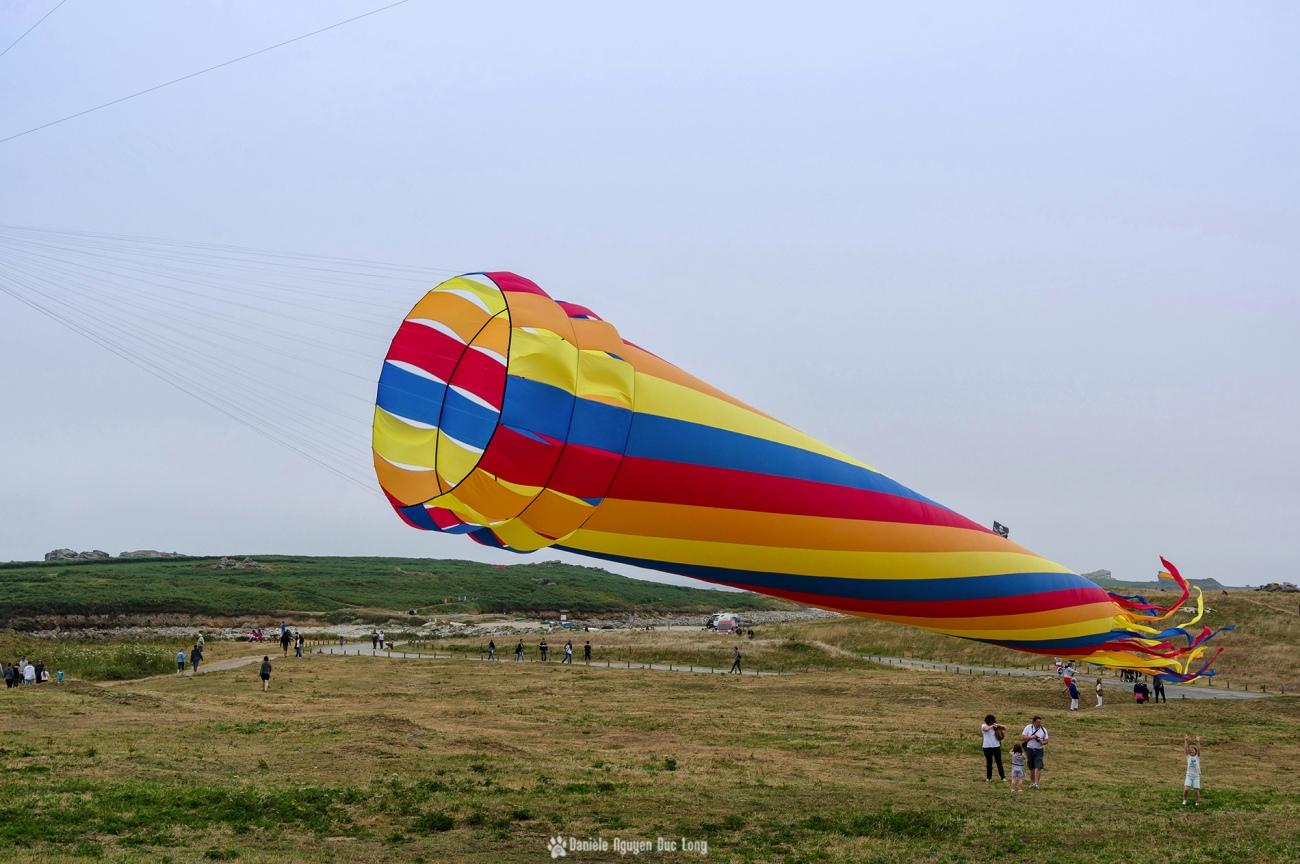 cerf-volant-tube-cone, , festival du vent et du cerf-volant à Porspoder, Porspoder, Bretagne, Finistère