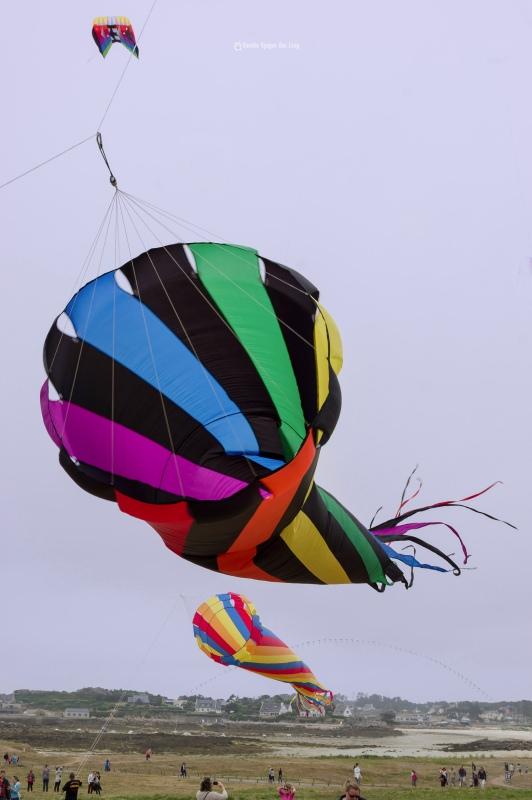 cerfs-volants-a-pospoder-2cones, festival du vent et du cerf-volant à Porspoder, Porspoder, Bretagne, Finistère