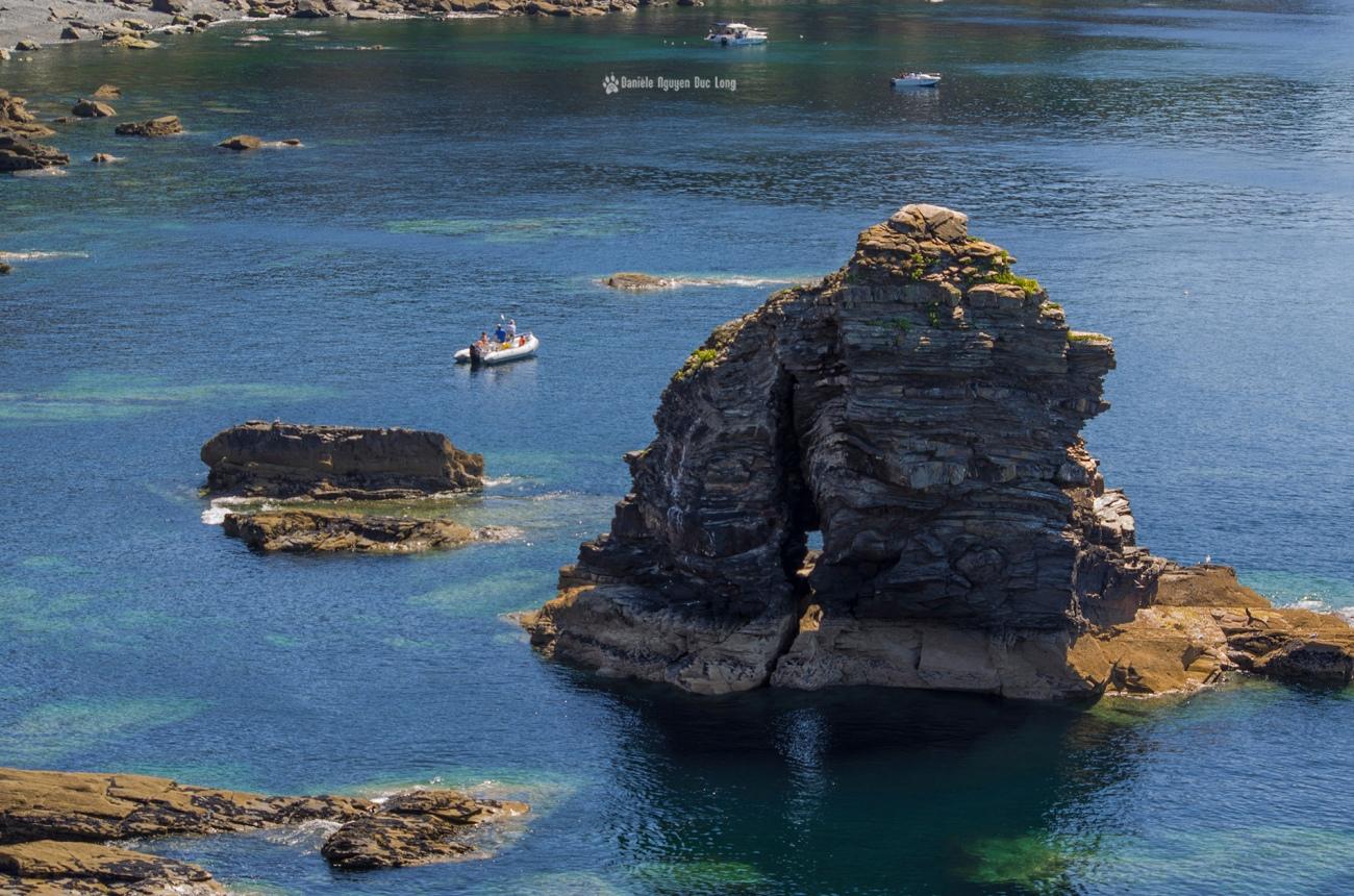 fort-des-capucins-rocher-tete-de-moine-, fort des Capucins, ilot du Capucin, Roscanvel, Bretagne, Finistère