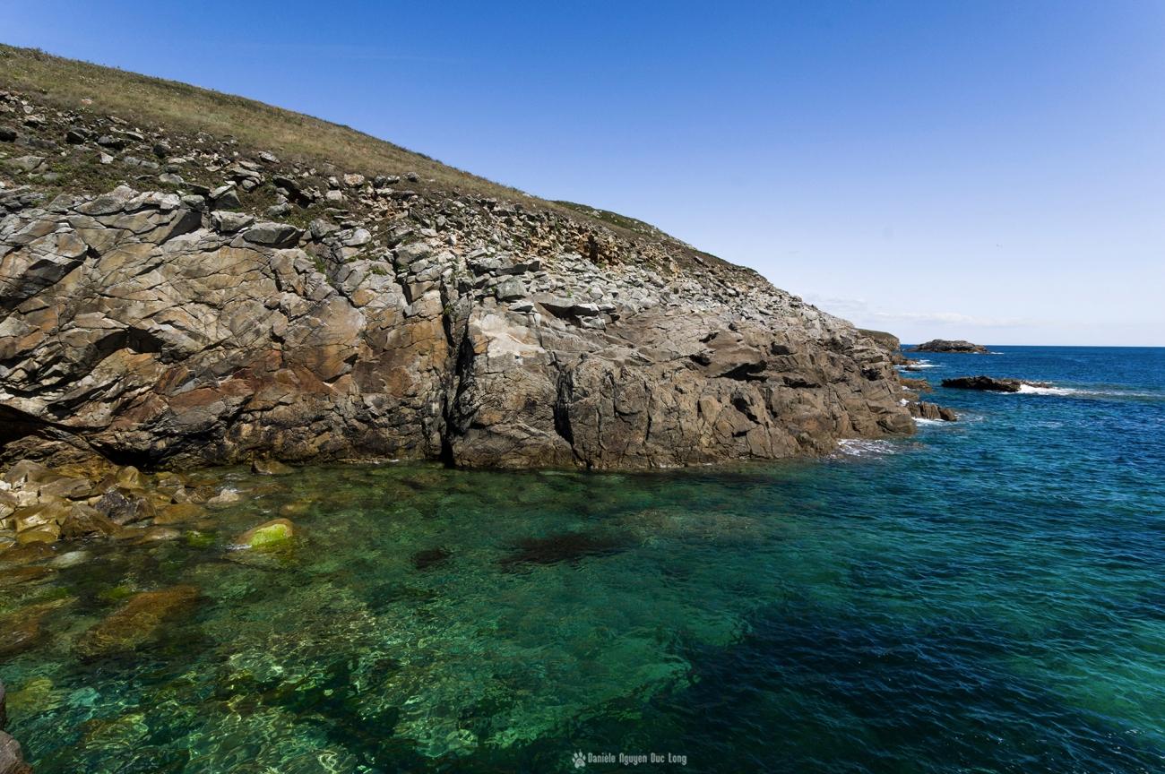 pors-loubou-et-ses-eaux-turquoises-, Pors Loubous, Plogoff, Bretagne, Finistère