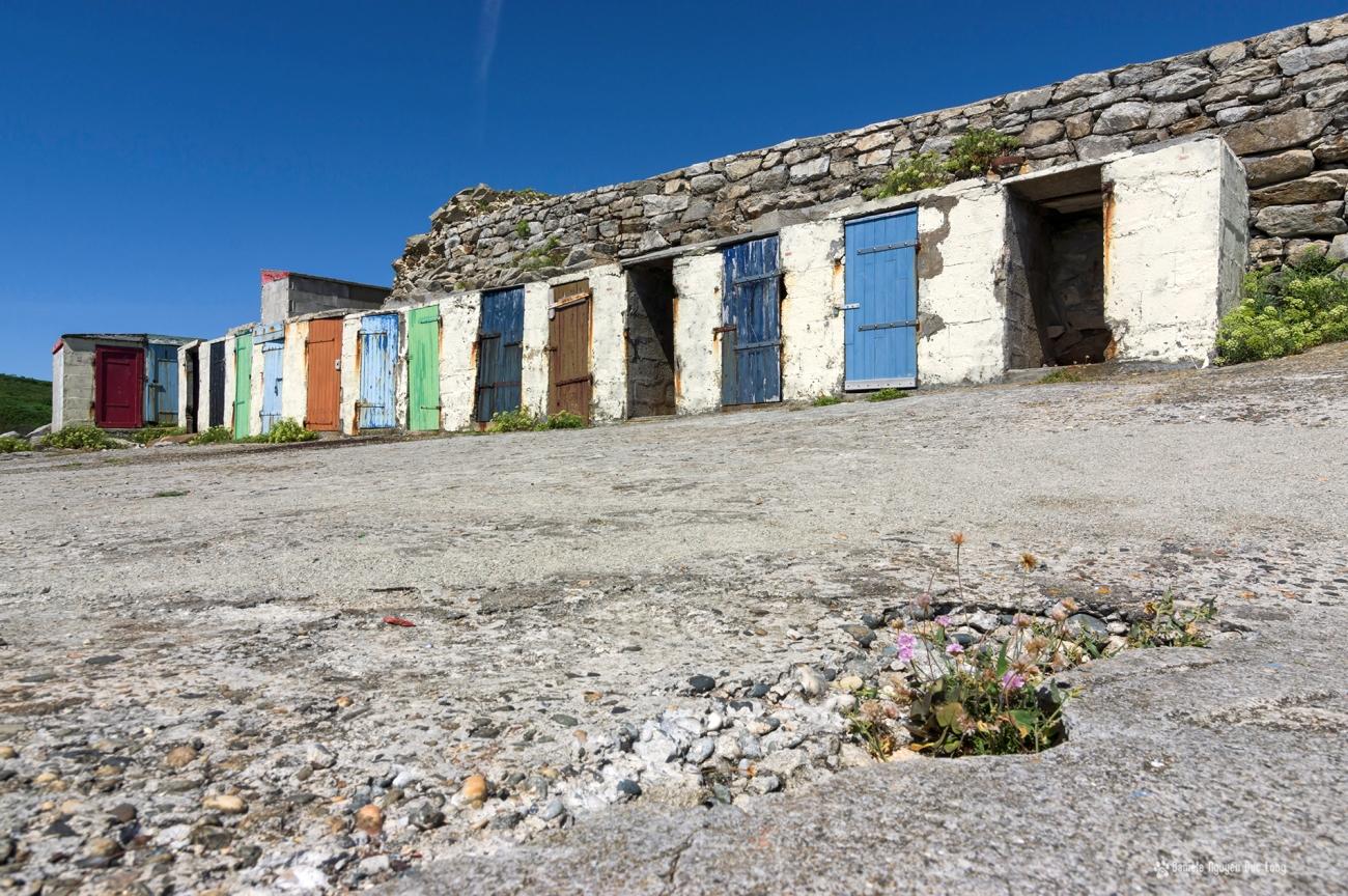 pors-loubous-les-cabanes-niveau-sol-, Pors Loubous, Plogoff, Bretagne, Finistère