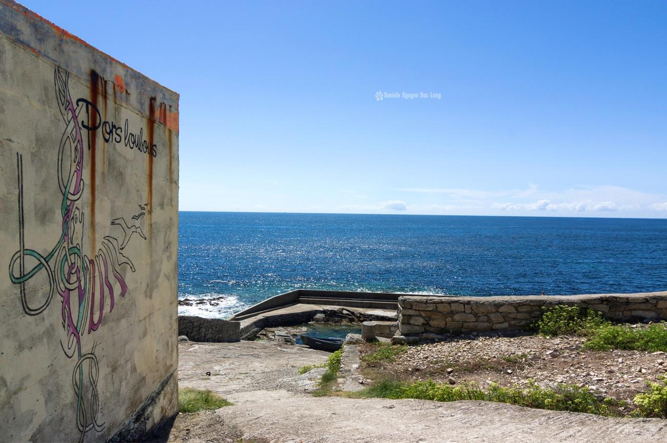 pors-loubous-muret-dentree, Pors Loubous, Plogoff, Bretagne, Finistère