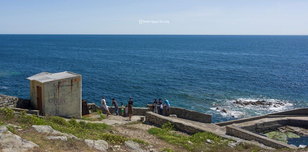 pors-loubous-vue-du-dessus-, Pors Loubous, Plogoff, Bretagne, Finistère