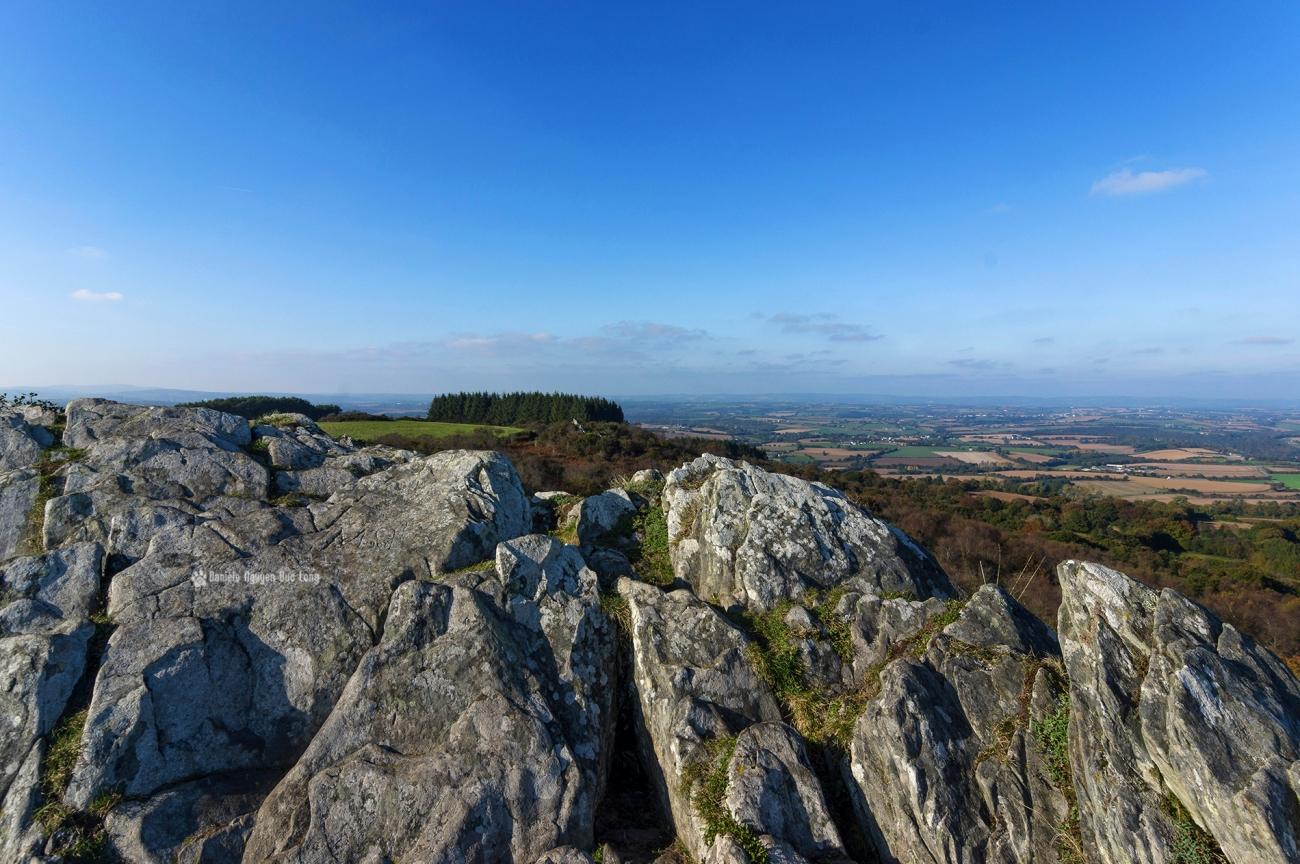 la-roche-de-feu-vue-02-, La Roche de Feu - Karreg An Tan, Montagnes Noires, Gouézec, Bretagne, Finistère