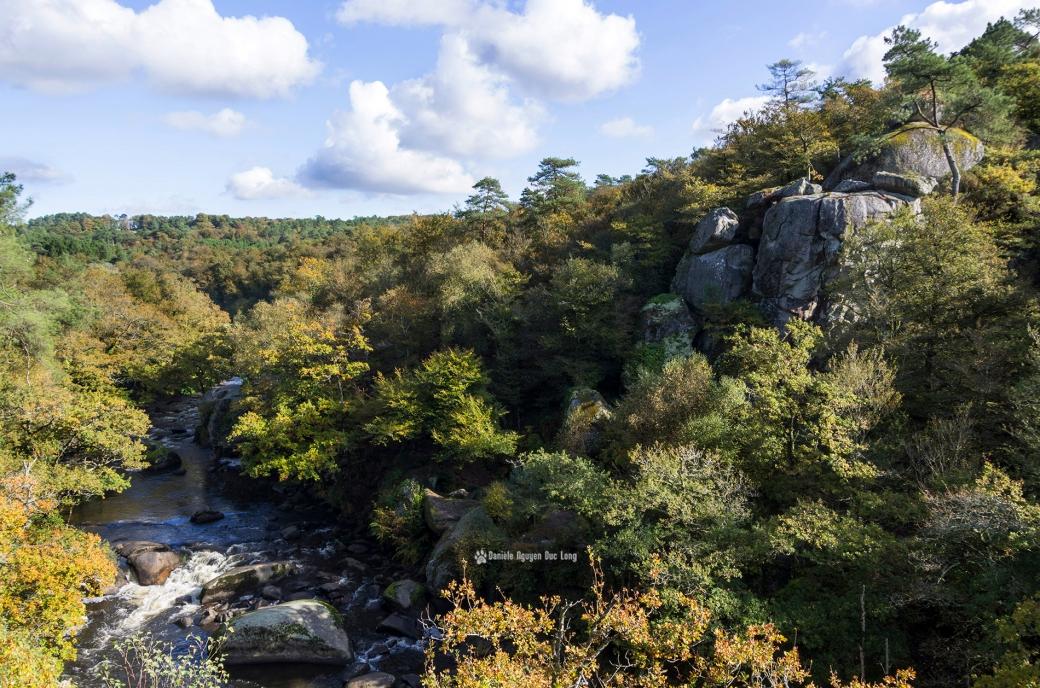 les-roches-du-diable-vue-depuis-le-belvedere-,Guilligomarc'h, Finistère, Bretagne, automne