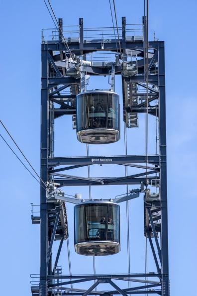Les capucins, téléphérique 2 cabines se croisent copie
