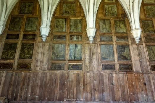 Manoir Stromaé chapelle fresques murales1 rdc copie
