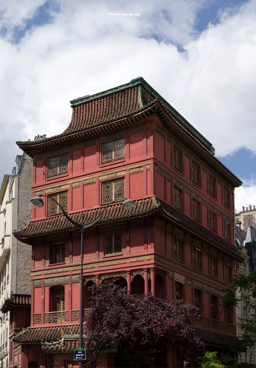 Pagode Loo, Maison Loo, Pagode d'inspiration chinoise, 8e arrondissement Paris