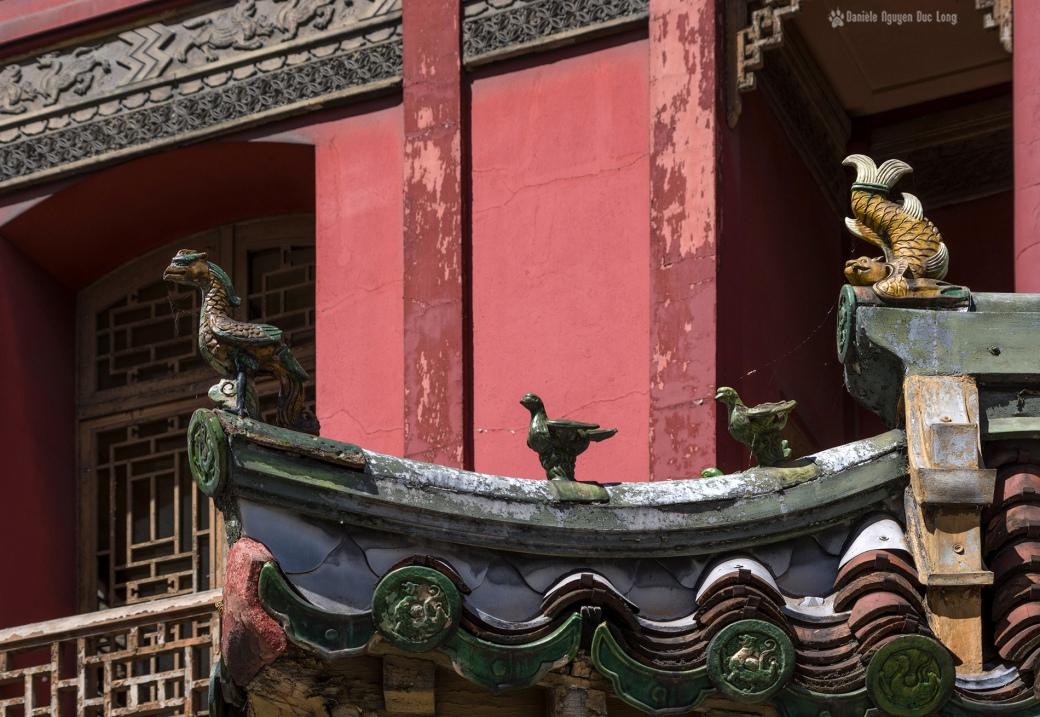 PPagode Loo, Maison Loo, Pagode d'inspiration chinoise, Paris 8e, détails
