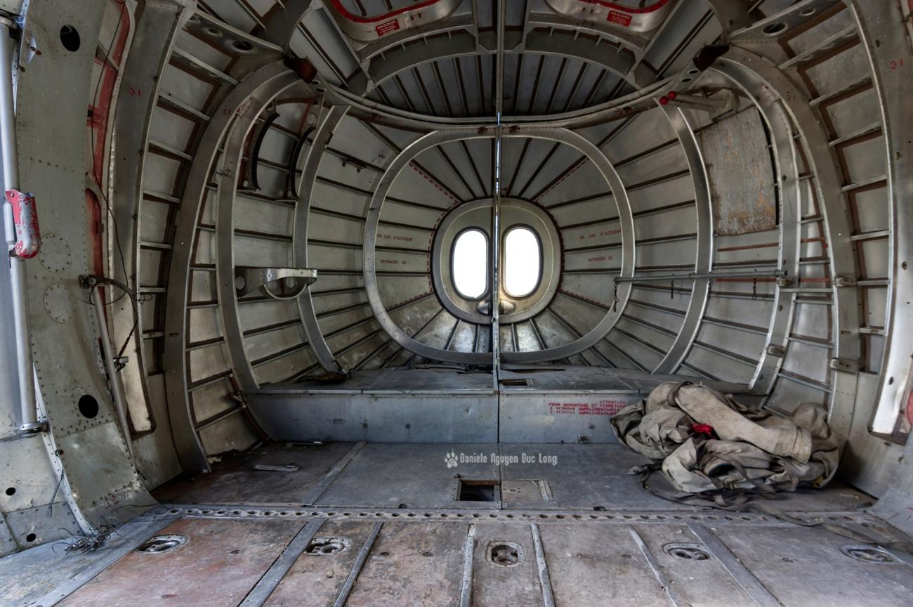 urbex - Top Gun - Planes, cimetière d'avions, cargo, Noratlas, queue du fuselage