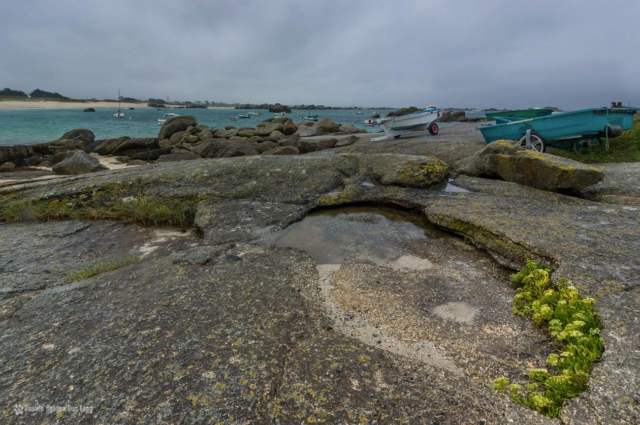 mauvais temps en Finistère, Bretagne, Finistère, Ruduloc, Ménéham, Kerlouan