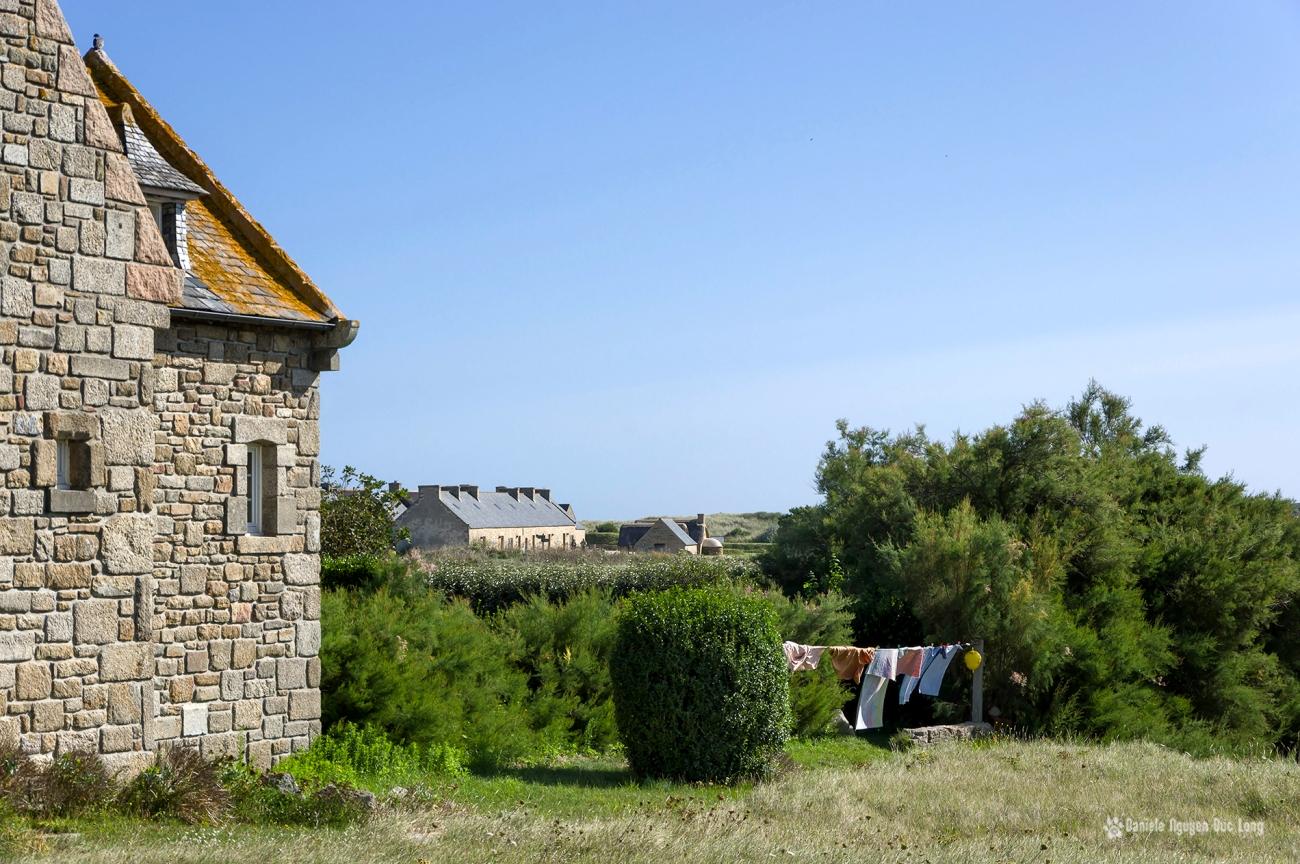 sèche linge breton, Kerlouan, Ménéham, Bretagne, Finistère