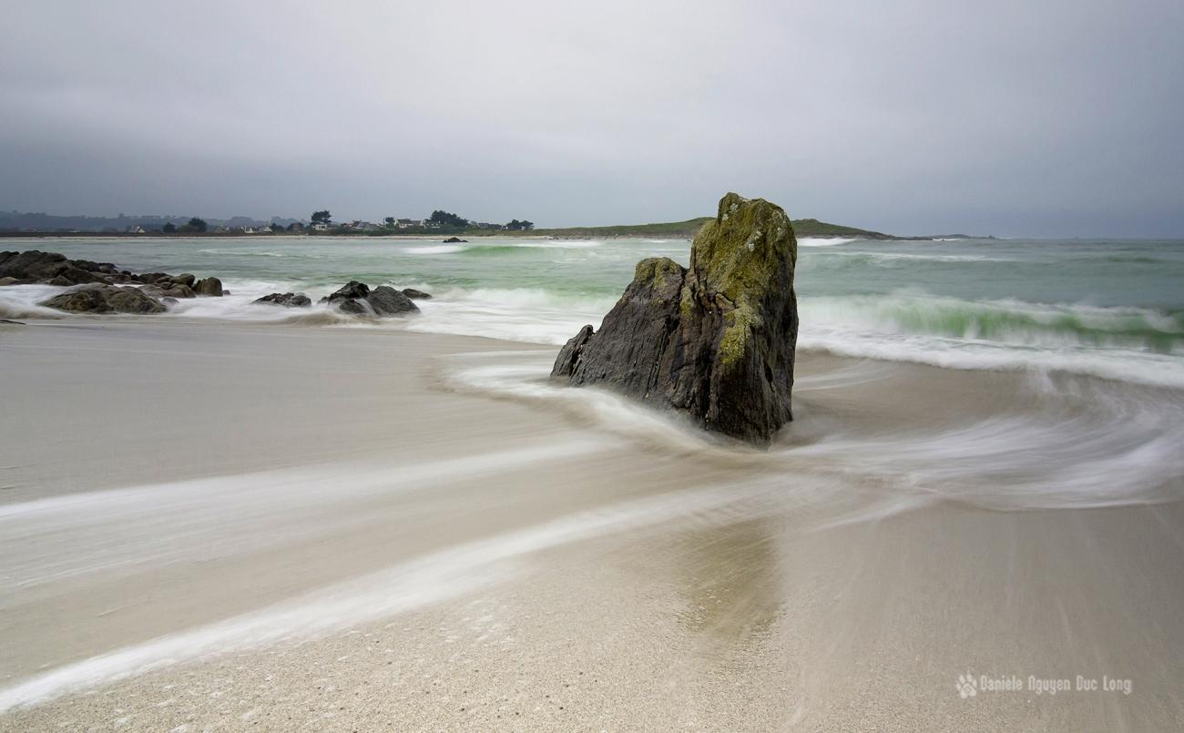 pose lente à la pointe de Dibennou - Guissény - Finistère - Bretagne