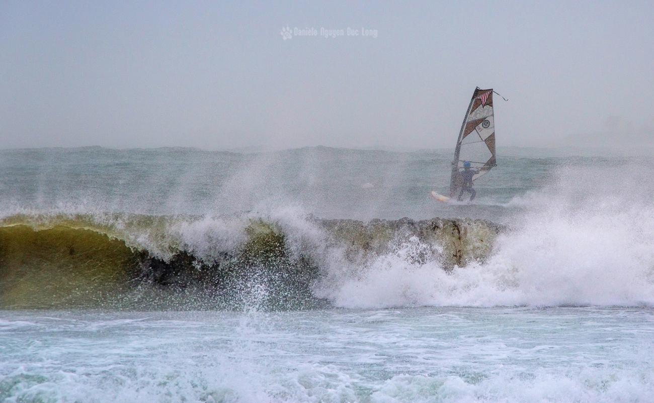 vagues, tempête, Curnic, Bretagne, Finistère, Guissény