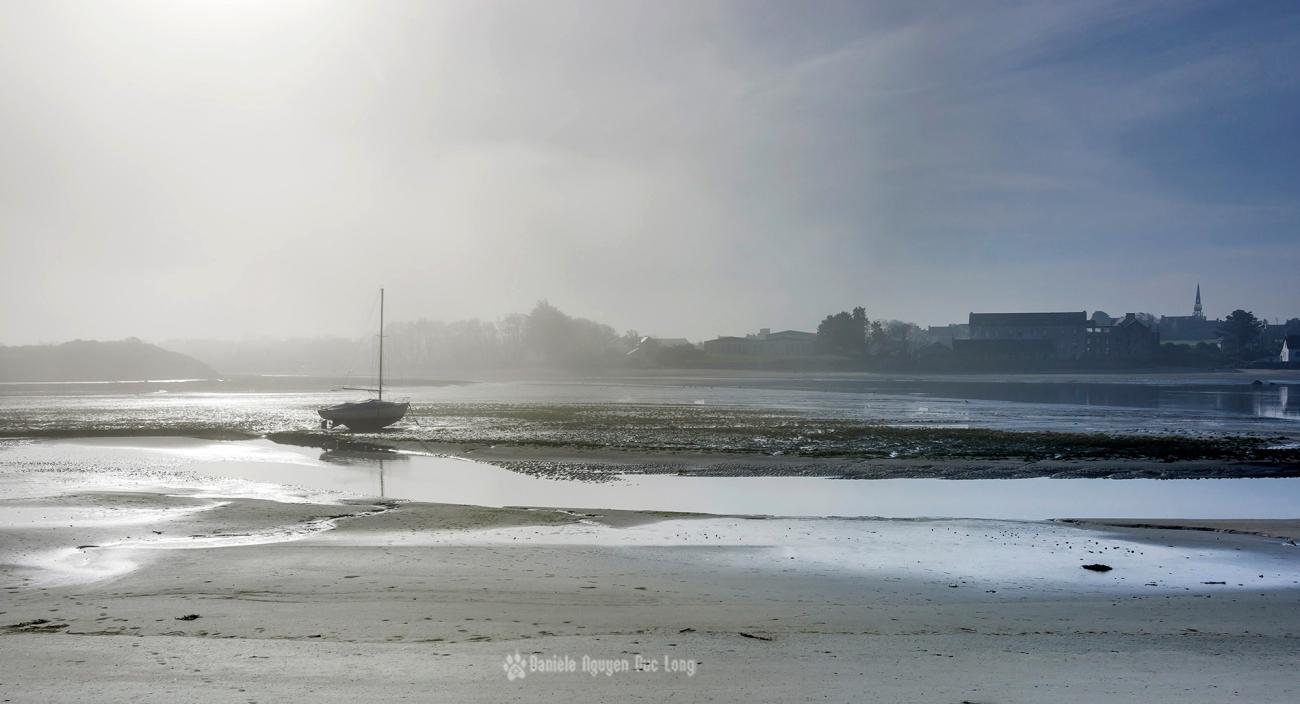 brume en baie de Guissény - Finistère - Bretagne