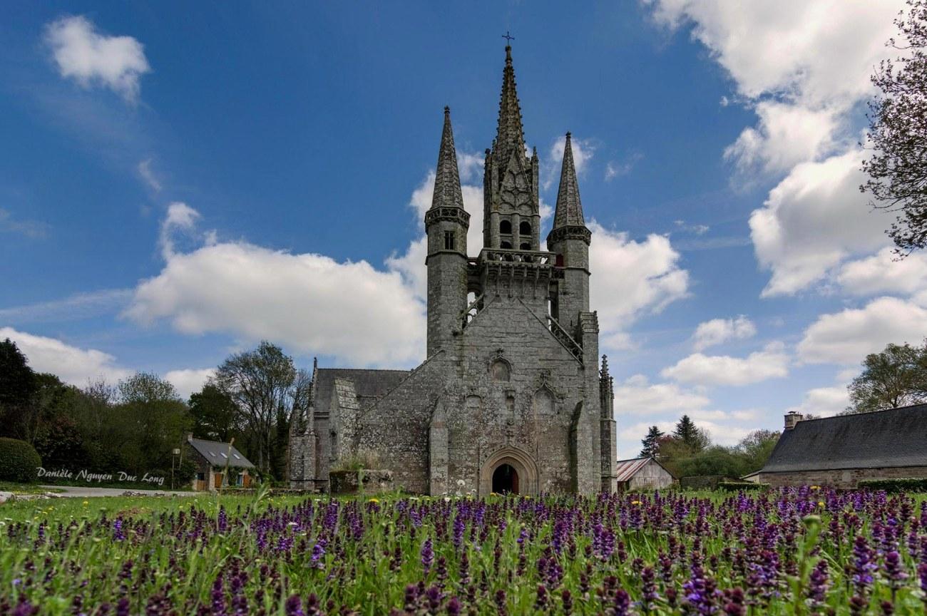 Chapelle Saint-fiacre Le Faouët, Bretagne