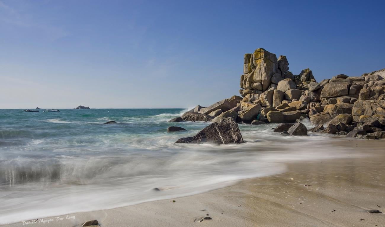 pose lente à Neïz Vran, Kerlouan, Bretagne, Finistère