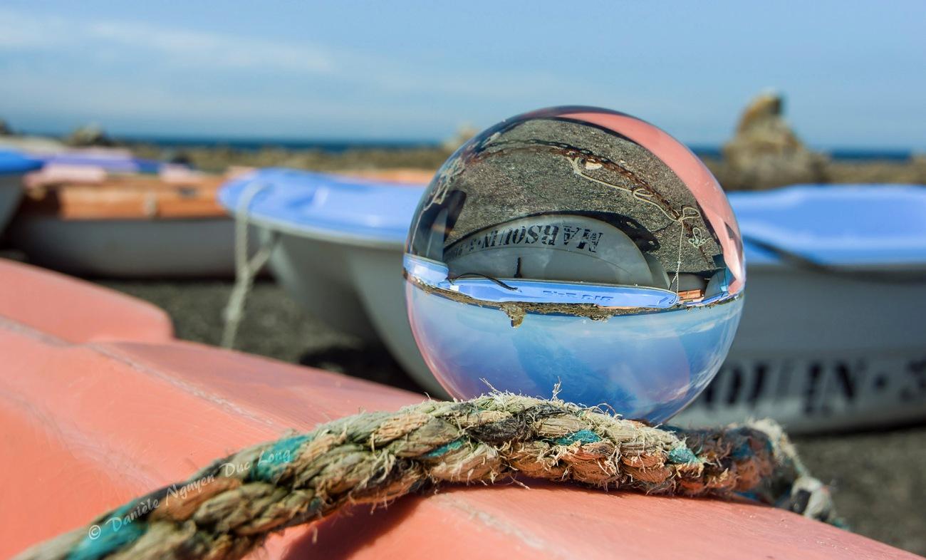 boule de cristal annexe Marsouin Poulennou Plouescat