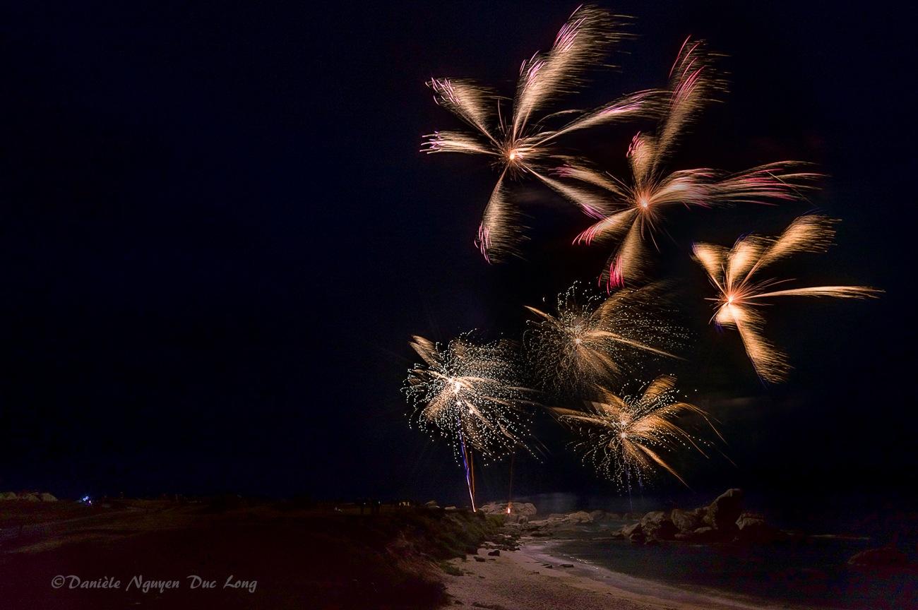 feu d'artifice à Meneham 2018, Meneham, Kerlouan