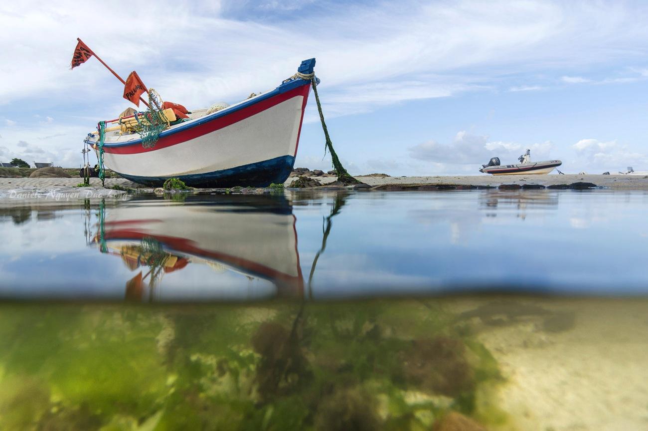 mi air mi eau, La Digue, Kerlouan, Bretagne, Finistère